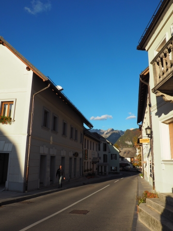 Bovec og fjellene