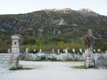 Ruinene etter et gammelt fort
